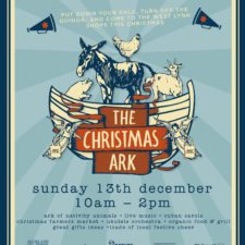 The whole community is coming alive on Sunday 13th December with an eclectic mix of all things festive! There will be music, dance, food and even farm animals!!!